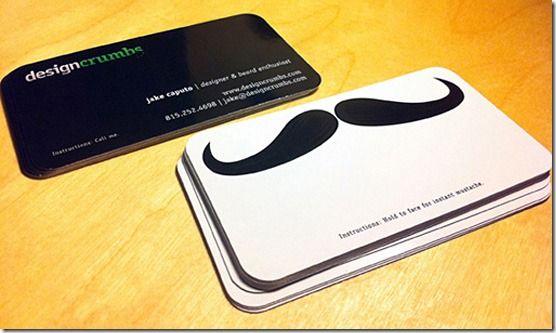 Stache Business Cards Creative Business Card Design Unique Business Cards