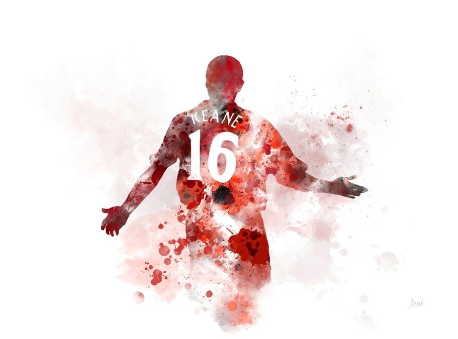 Football Gift Liverpool Wall Art ART PRINT Sadio Mané illustration Sport