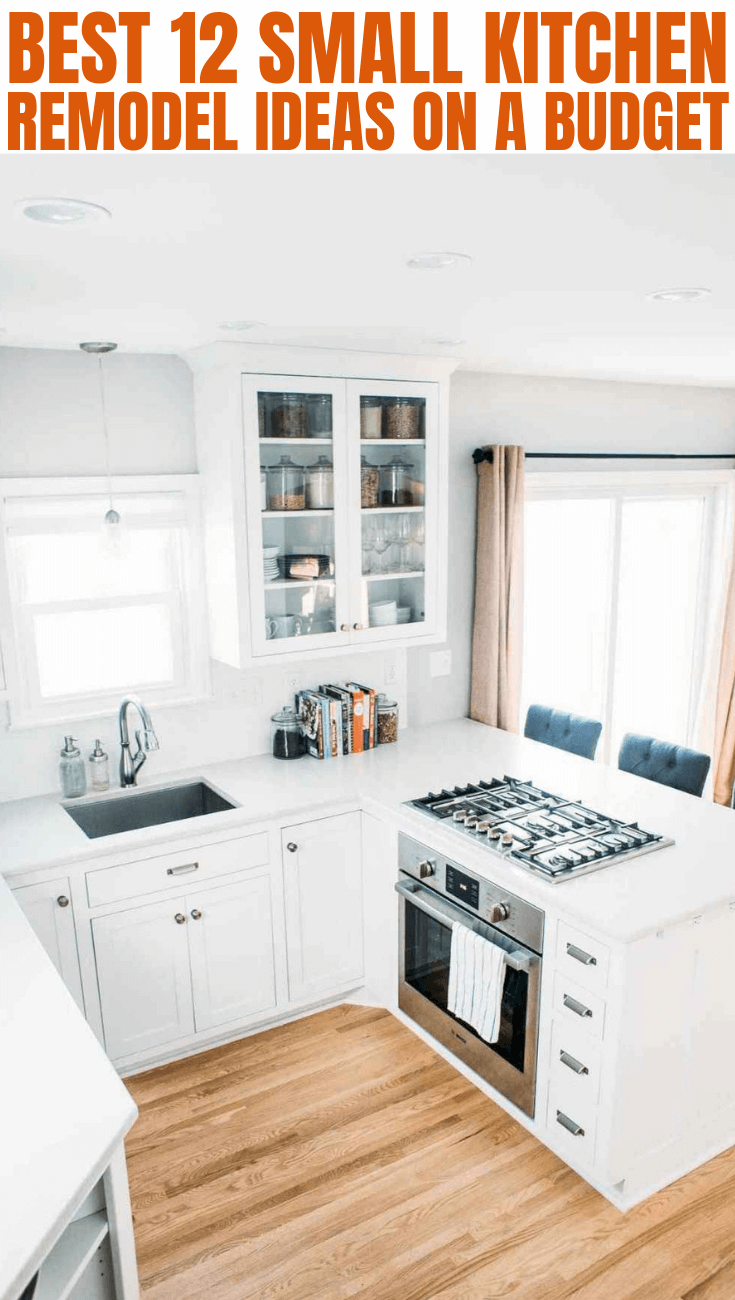 9 Small Kitchen Remodel on a Budget   Small Kitchen Guides ...