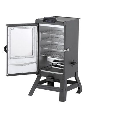 Masterbuilt Pro 30 in. Bluetooth Smart Digital Electric Smoker with Legs 20072415 at The Home Depot - Mobile