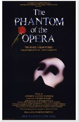 Phantom Of The Opera The Broadway Musical Absolutely