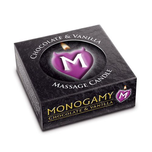 Monogamy Chocolate and Vanilla Small Intimate Candle http://www.lovebuzzz.com/monogamy-chocolate-and-vanilla-small-intimate-candle-25g.html?search=monogamy25g