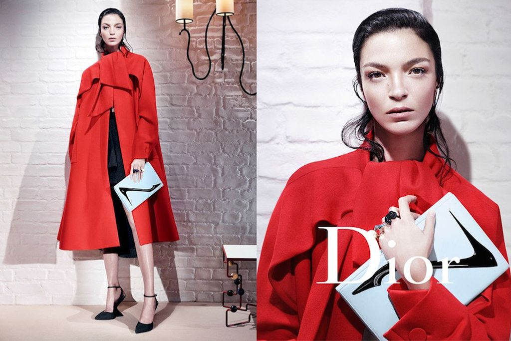 Dior FW 2013/2014 with Mariacarla Boscono