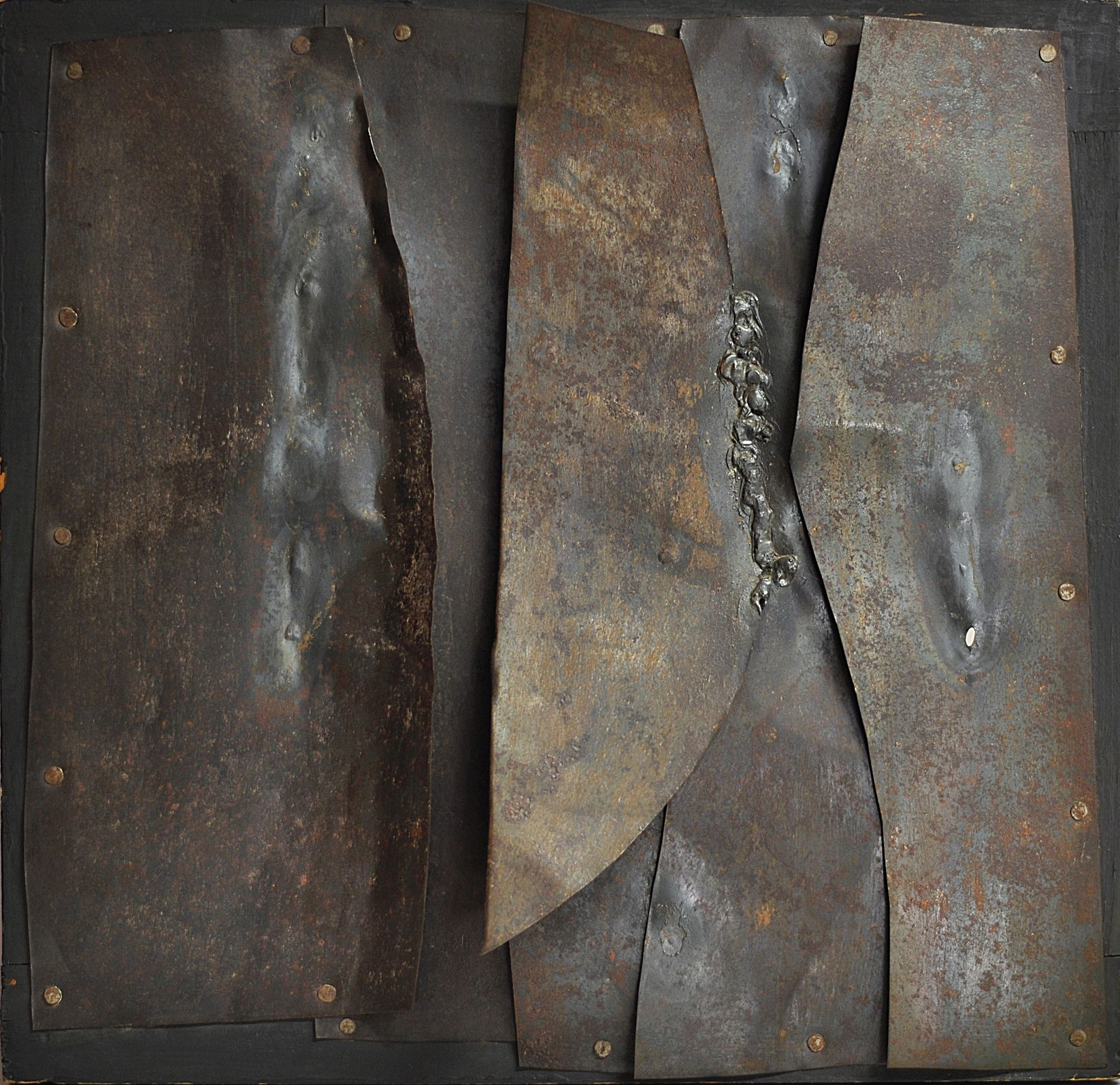Alberto Burri, Iron, 1960
