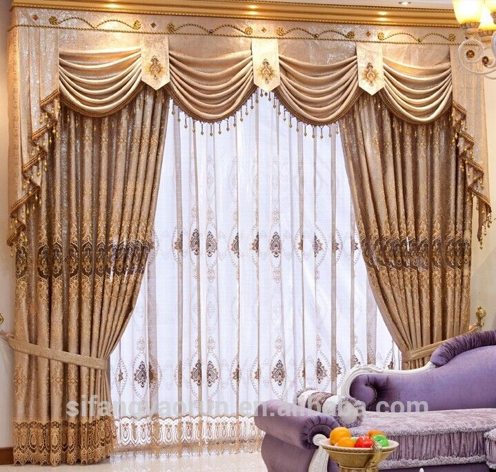 2013 Luxury Living Room Curtains Designs Ideas: Valance Curtains - Google Search