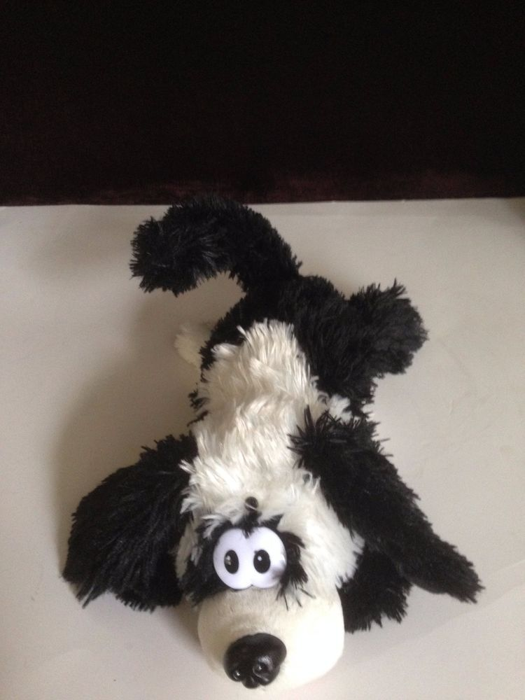 Laughing Roll Over Dog Plush Motion Activated 12 Stuffed Toy