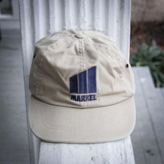 91ac07a29fa Khaki Markel Vintage Dad Hat    Low Provide Baseball Cap
