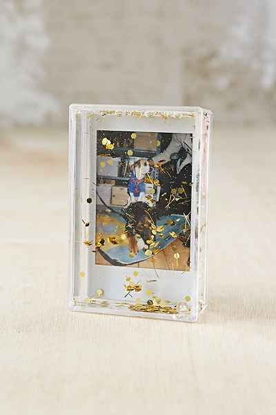 Lovely Mini Instax Glitter Picture Frame   Urban Outfitters ($6)