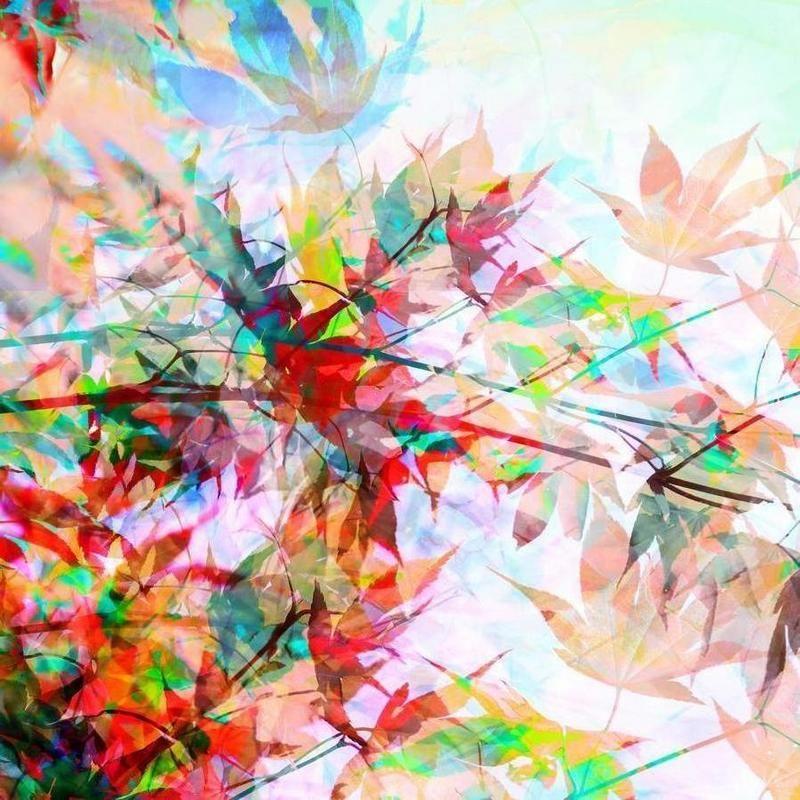 Abstract Autumn 2 als Leinwandbild von Mareike Böhmer   JUNIQE