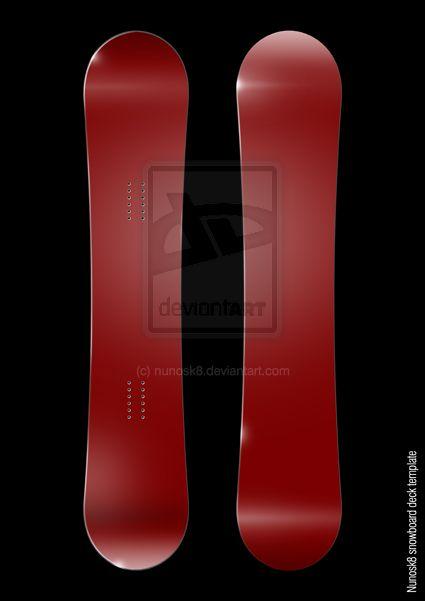 New Snowboard Template By Nunosk8 Deviantart Com On Deviantart