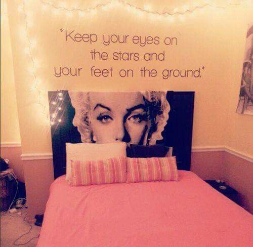 I Love The Quote Marilyn Monroe Room Marilyn Monroe Bedroom Teenage Girl Room