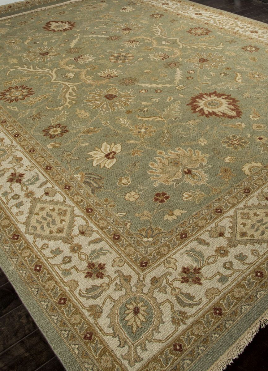 Addison And Banks Hand Knotted Abr1137 Sea Green Area Rug Clearance In 2020 Clearance Rugs Rugs Area Rugs