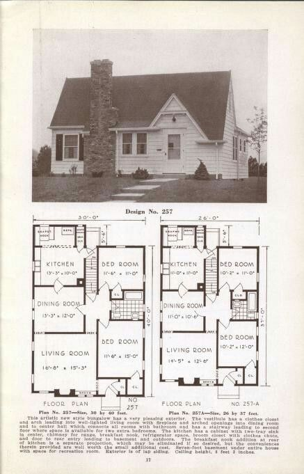 Ideal Homes, Section 1, Bungalows - Design #257 - Typical ... on craftsman style house plans, star house plans, spirit house plans, colonial house plans, oakland house plans, cord house plans, 1969 house plans, concord house plans, country house plans, replica house plans, sterling house plans, dreams house plans, zimmer house plans, ranch house plans, small rustic house plans, alexander house plans, tesla house plans, two story house plans, vintage house plans, 3 stall garage house plans,