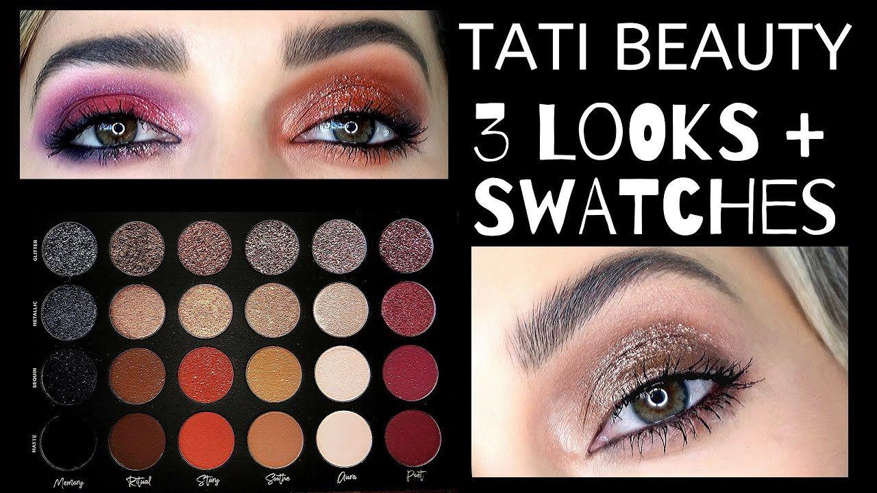 Tati Beauty Textured Neutrals Vol.1 3 Looks 1 Palette