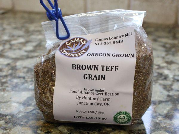 Brown Teff Grain From Camas Country Mills Grain Foods Grains Ingredient