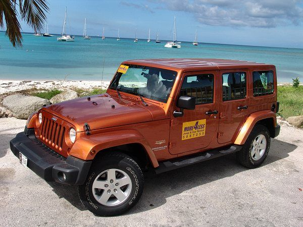 Aioutlet Jeep Car Rentals For The Desert Side Of The Island