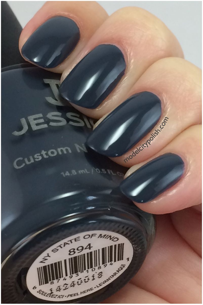 Jessica Custom Colour in NY State of Mind. #jessicanails | Jessica ...