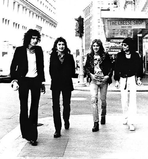 """Queen Guitar Lessons on Twitter: """"Queen outside cheese shop 'you call me sweet like I'm some kind of cheese'"""
