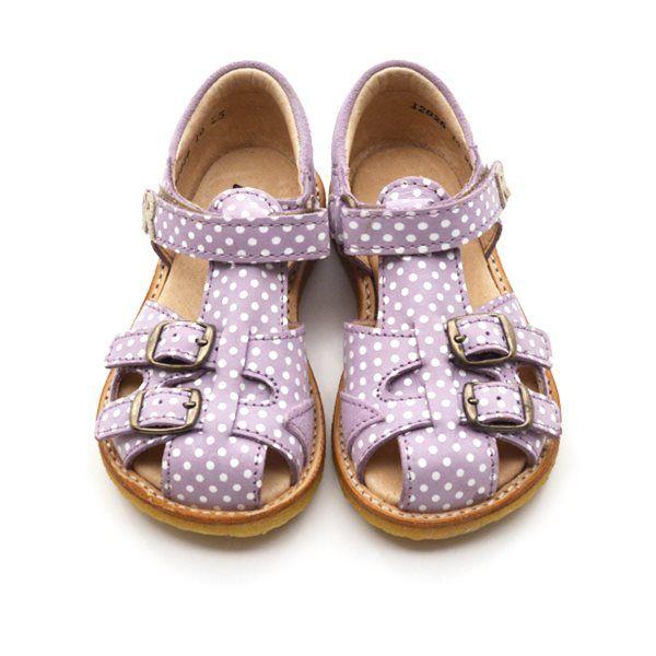5f3f859ef15 Arauto RAP sandal m. spænder lilla dots | Fashion | Rap, Sandals, Dots