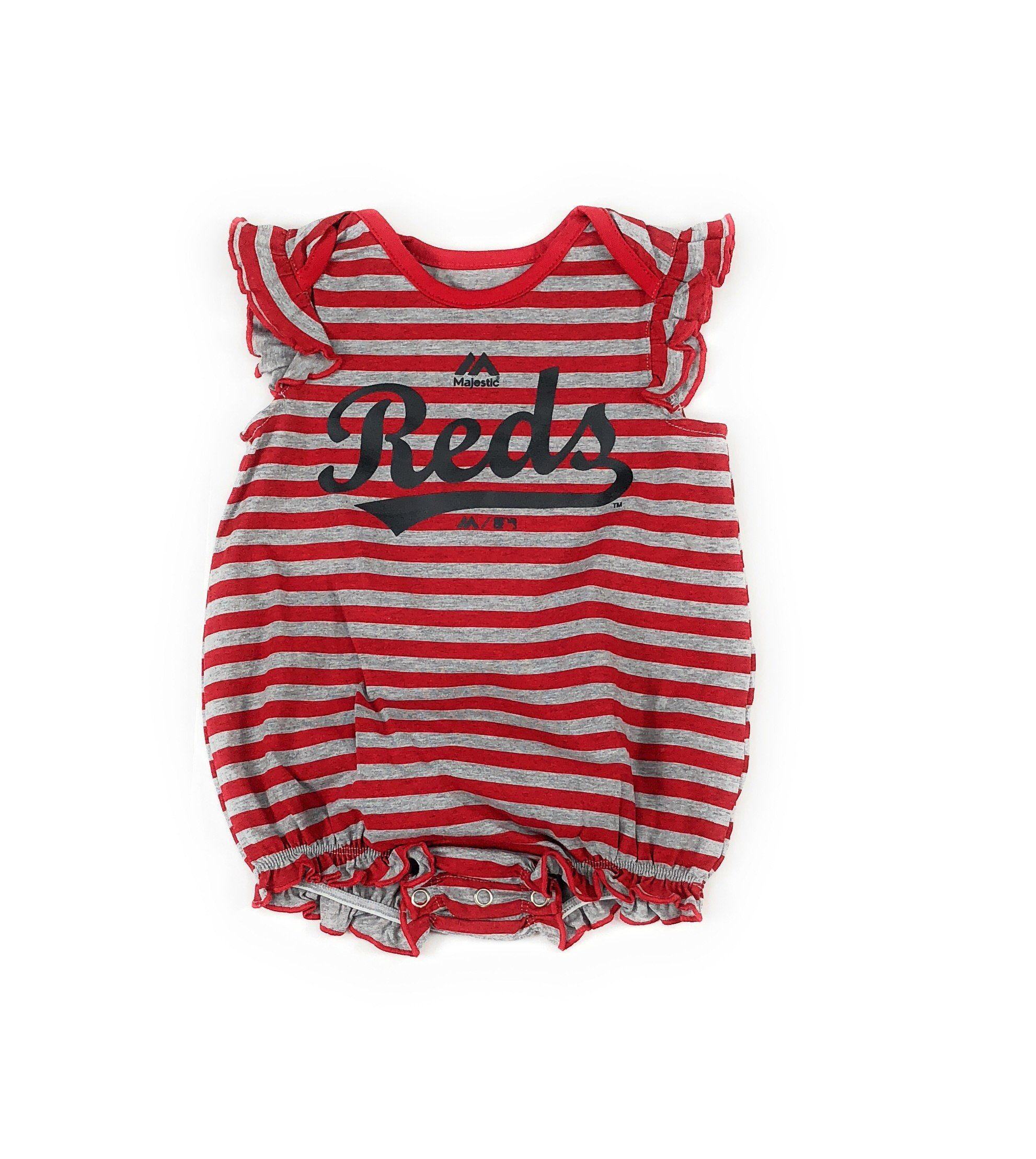 Outerstuff Cincinnati Reds Girls Baby Team Sparkle Clothing Apparel 2 Piece...