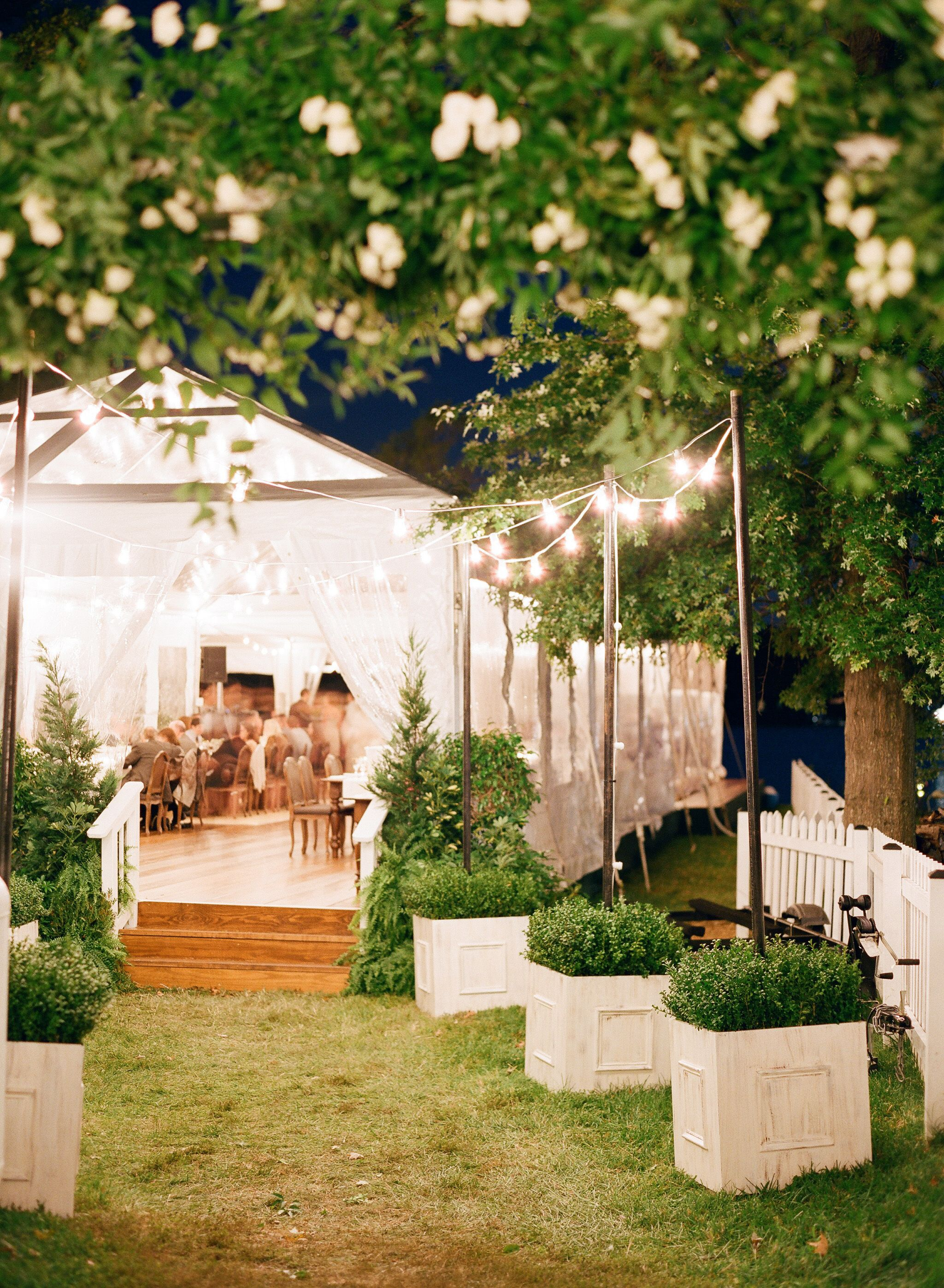 Elegant Backyard Wedding on the Annapolis Waterfront ...