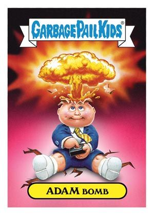2012 Topps Garbage Pail Kids Brand New Series Checklist Info Boxes Garbage Pail Kids Garbage Pail Kids Cards Kids Magnets