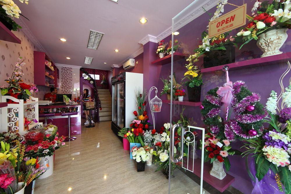 Florists in Jakarta, Indonesia. Lokasi TOKO CABANG PURI