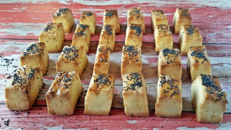 Retrománia: vágott sós, az örök sláger #sós #tészta #recept