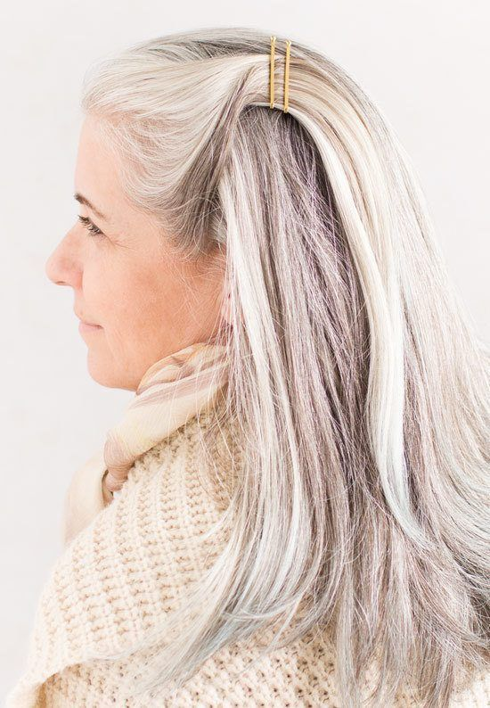 The Top 10 Best Hairstyles for Long Gray Hair In 2018 | ***Bloggers ...