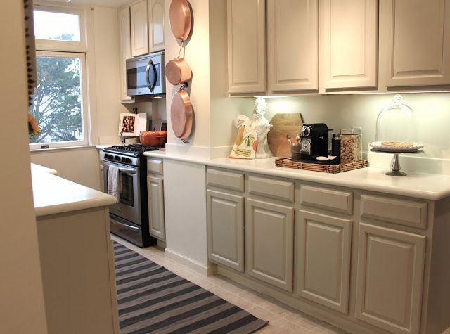Revere Pewter Kitchen Cabinets  Google Search  Kitchen Design Amusing How To Paint Kitchen Cabinets White Review