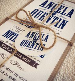 faire part de mariage biarritz typographie