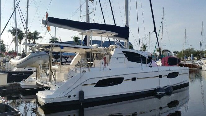Leopard 44 well equipped owners' version  catamaran for sale caroline.laviolette@catamarans.com