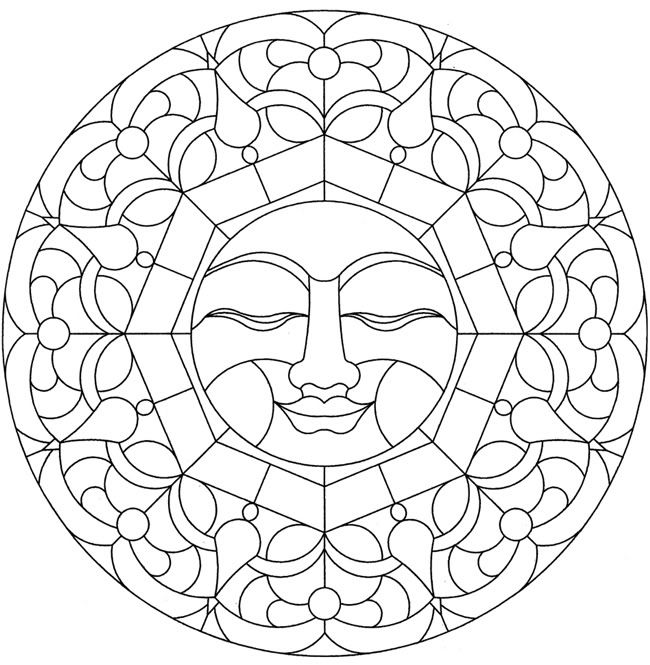 mandalas to print and color for adults | Malvorlagen/Ausmalbilder ...