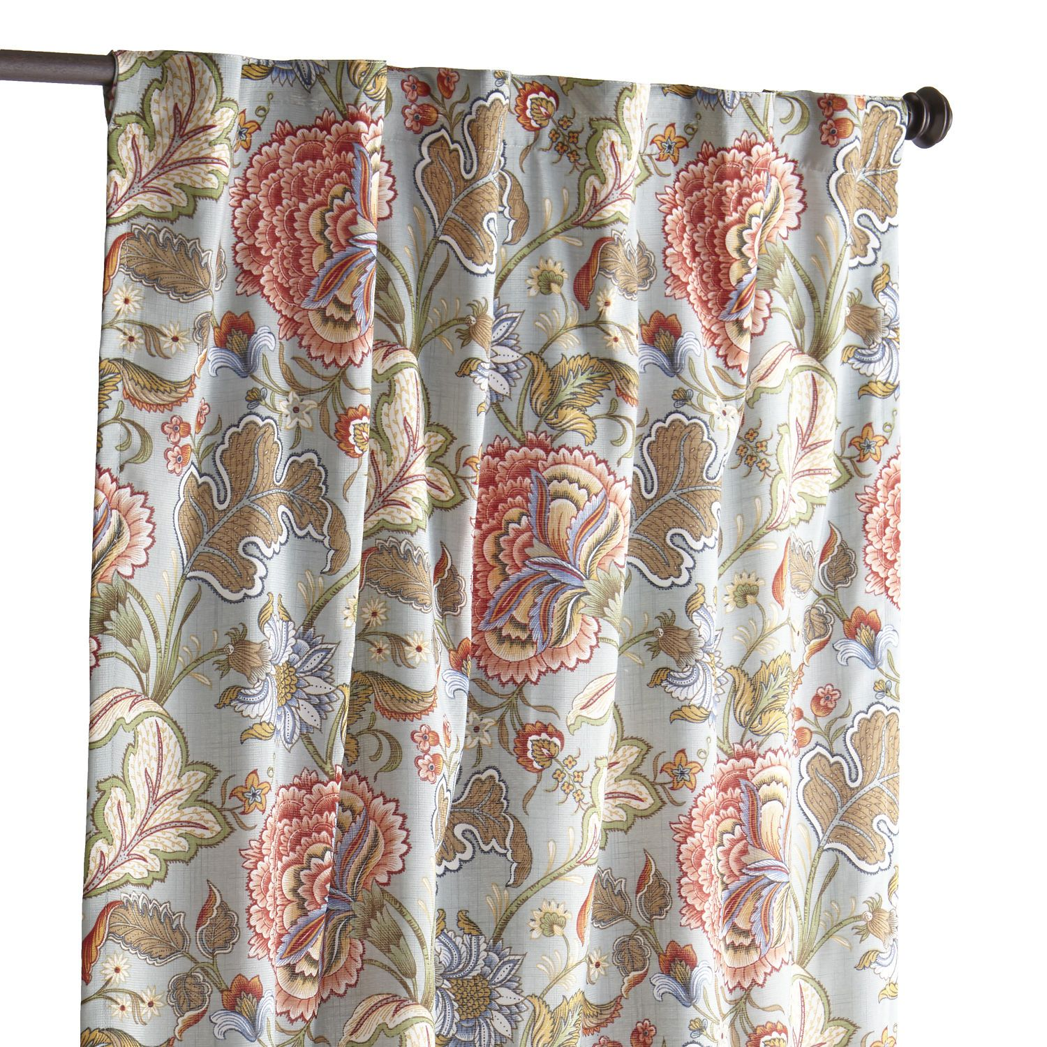Floral Blue Meadow 84 Curtain CurtainsHanging GardensPier 1 ImportsDining RoomsMaster