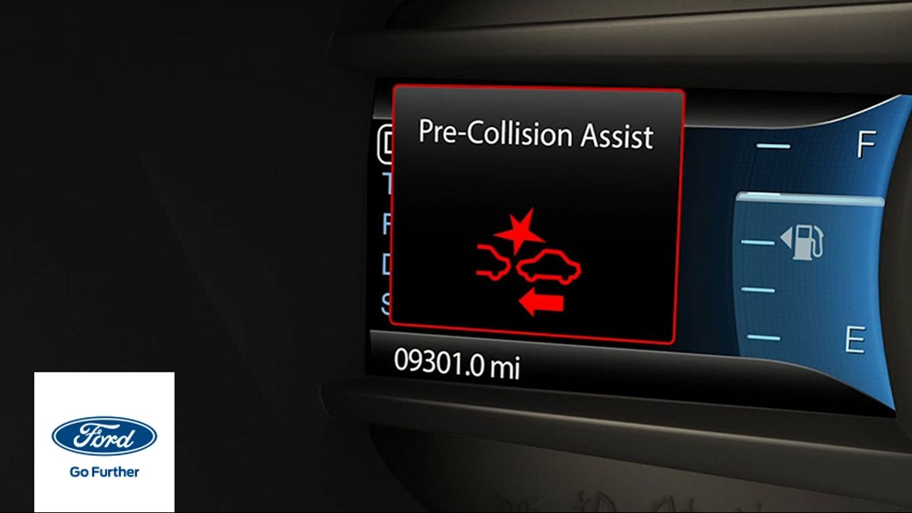 Pre Collision Assist With Pedestrian Detection Ford How To