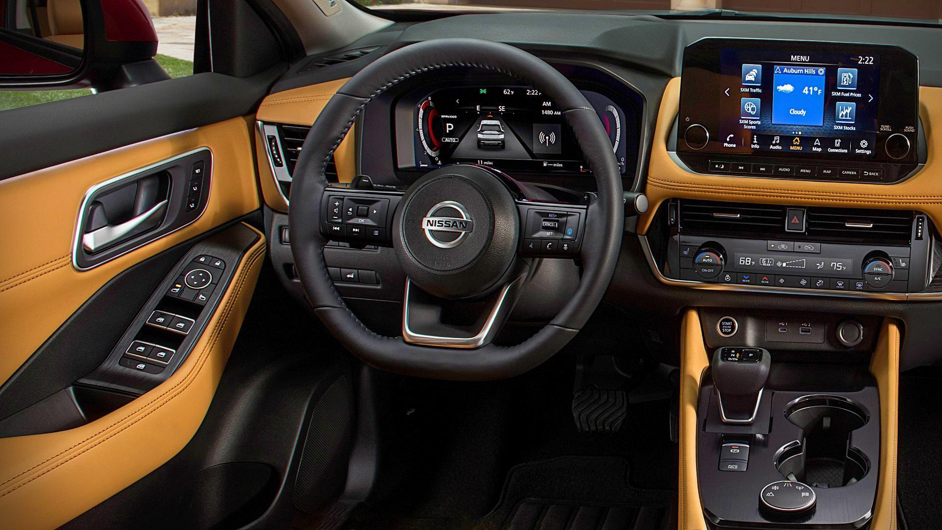 2021 Nissan Rogue Interior in 2020 Nissan rogue interior