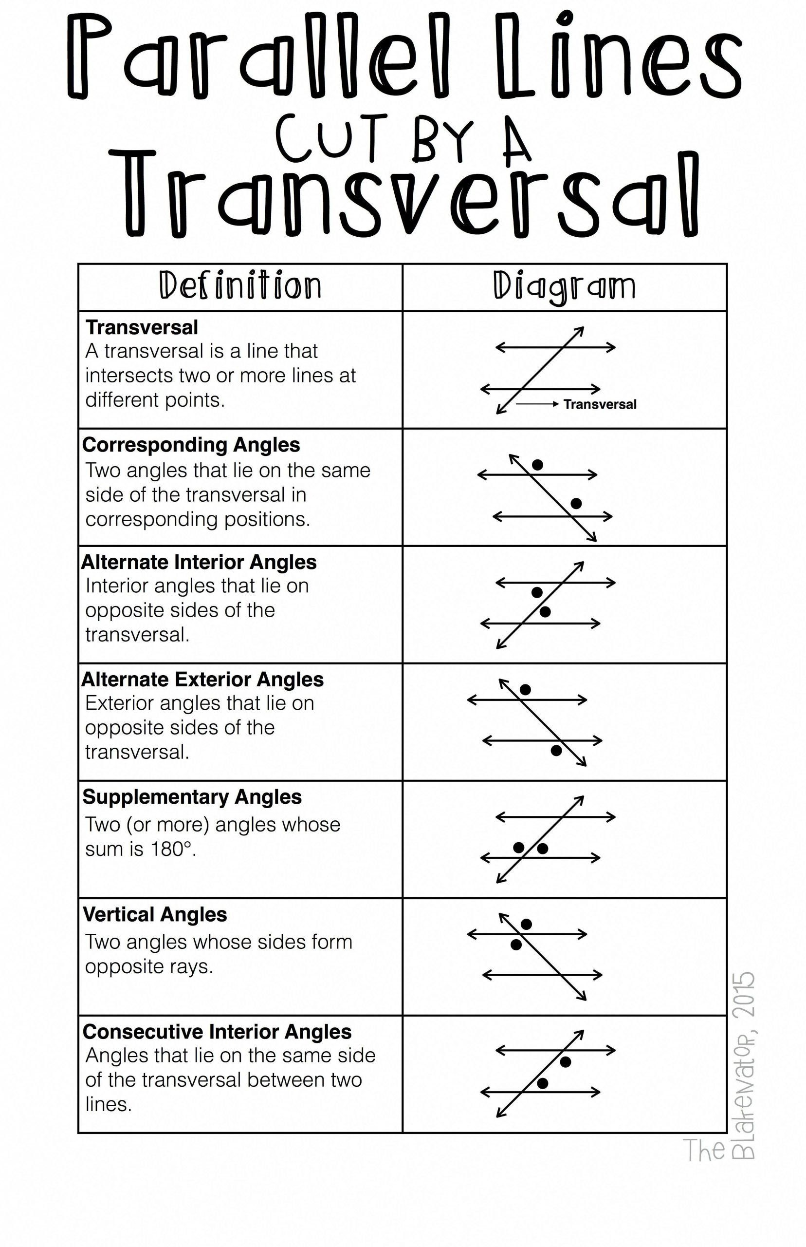 Angle Pair Relationships Worksheet Pin On Teacher Binder