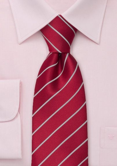 025a722ef0889 Crimson-Red and Silver Tie would look great with our silver & red #Chopard  watch.