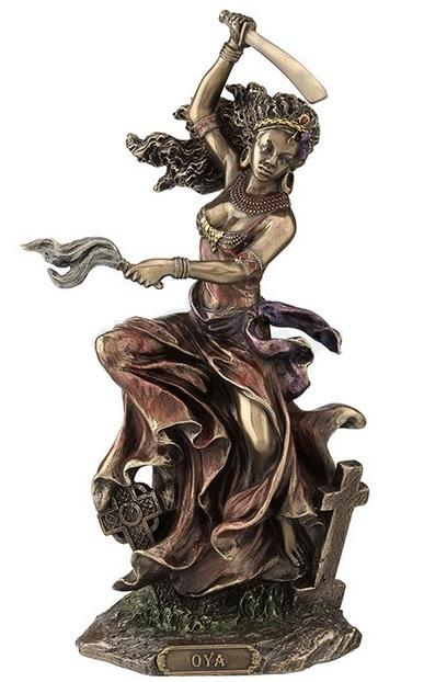 WU Oshun Goddess of Love Beauty and Marriage Sculpture