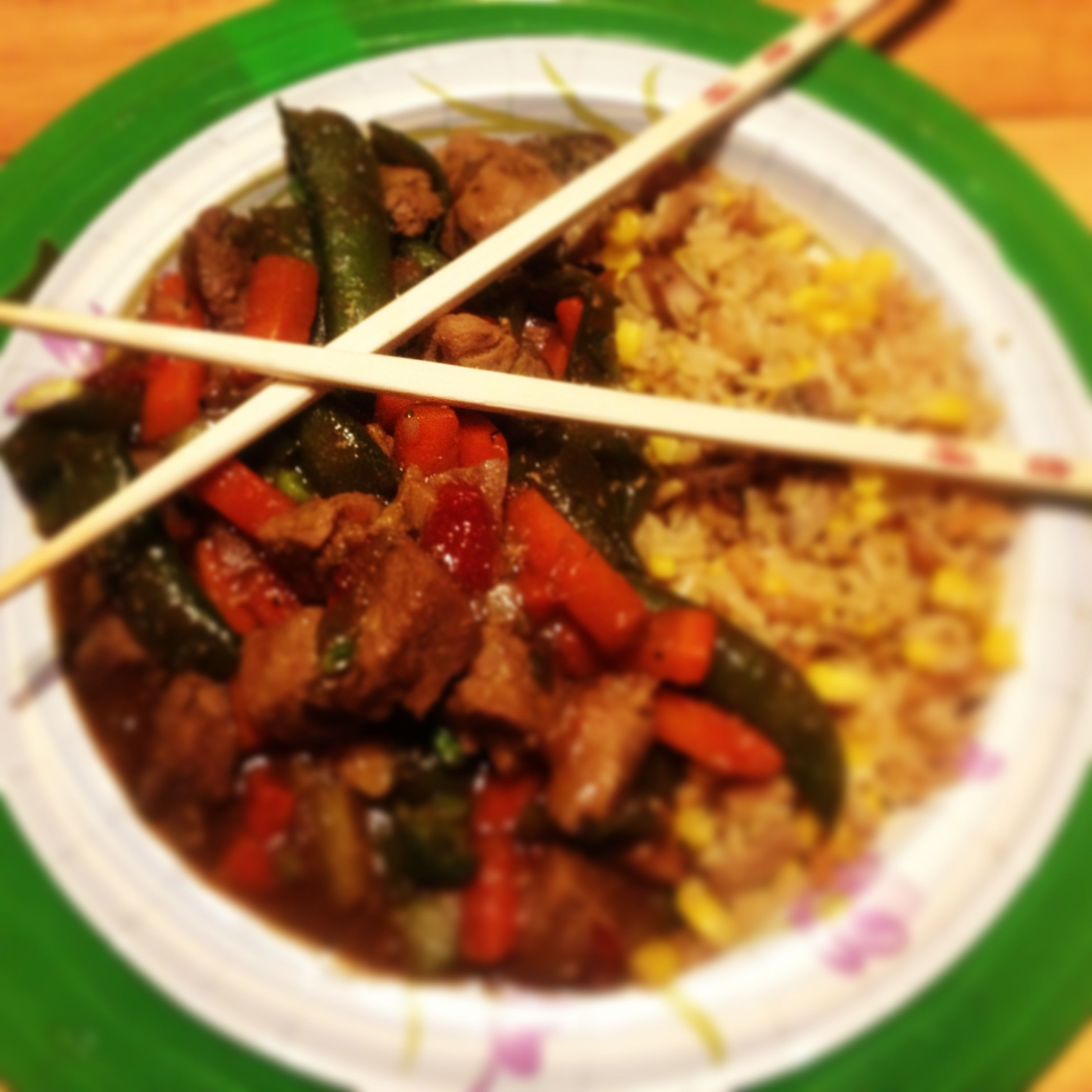 Homemade Chinese Food My Version Of Pork Stir Fry Made With Bought Frozen