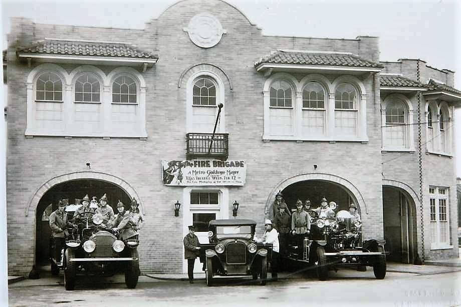 1930 S Fire Station 7 At 604 S Alamo St It Is Now The