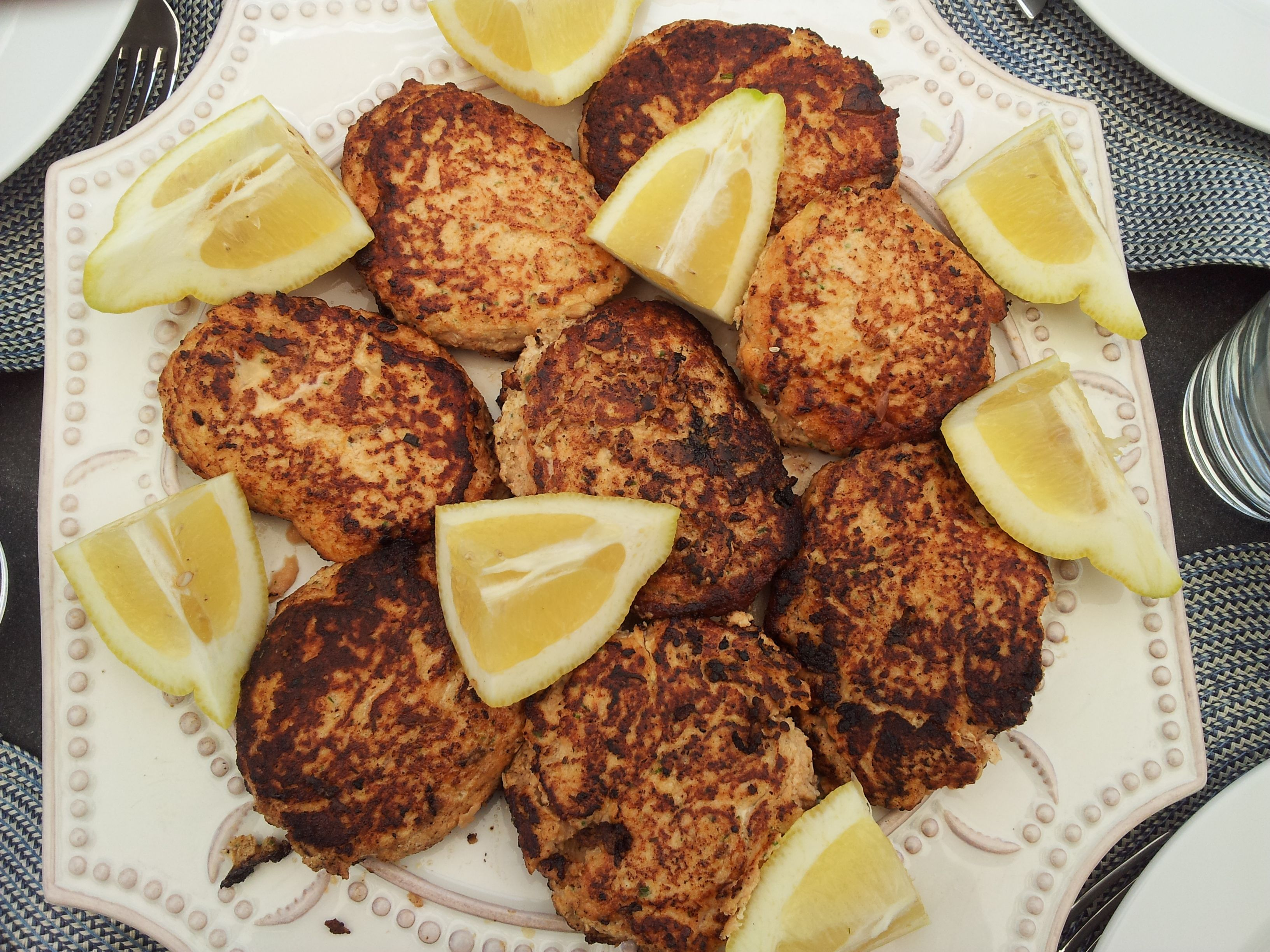 By me & others (salmon burgers)