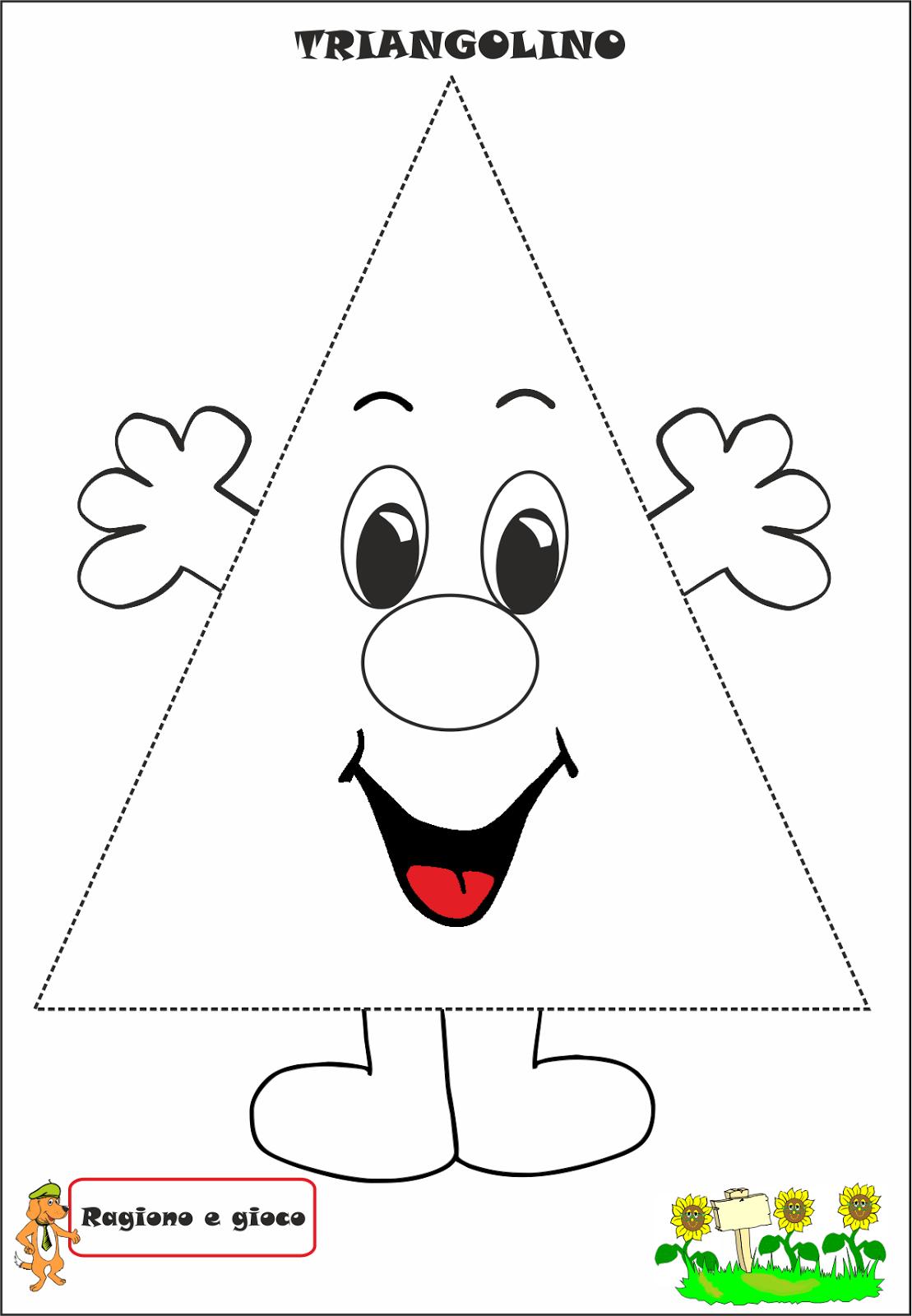 Triangolino | Geometrie, Vorschule und Geometrische figuren