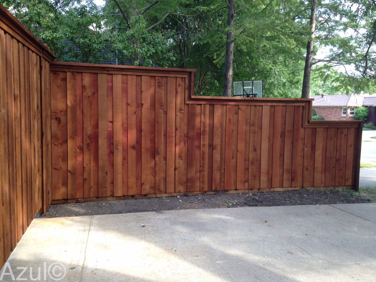 This Tiered Fence Puts The Fun In Functional Backyard Fences