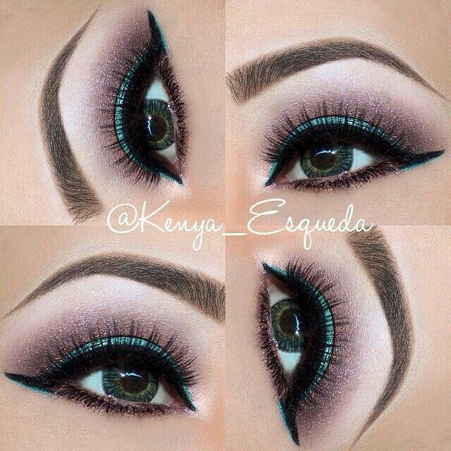 Inner corner color. | Artistry makeup, Pink makeup, Eye makeup