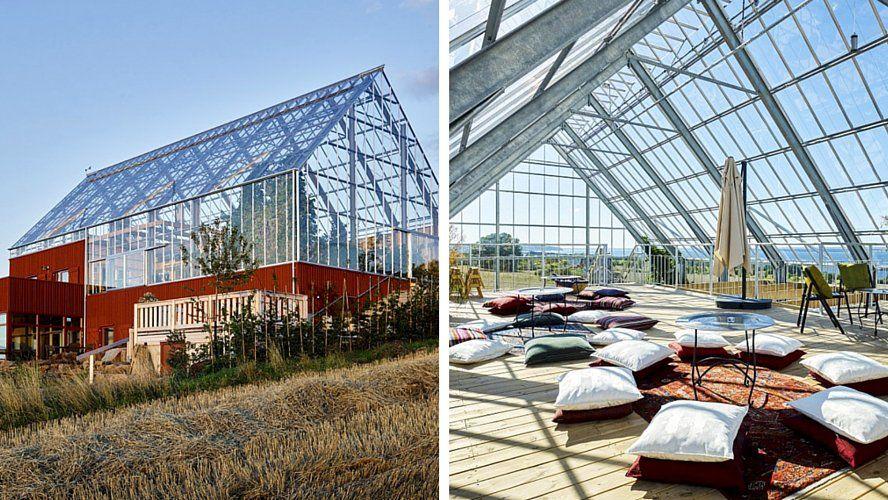En Suède, cette maison à panneaux solaires produit plus du0027aliments