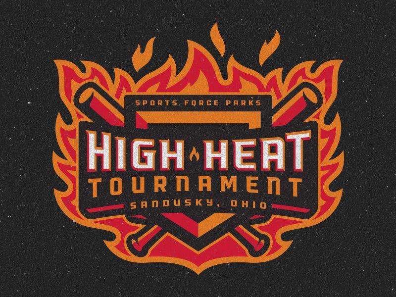 Sports Force Parks High Heat Tournament Logo Sports