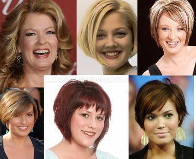 Corte de cabello para gorditas cara redonda