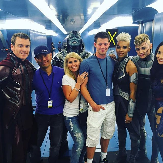 Michael On The Set Of X Men Apocalypse Https Www Instagram Com P Bhgls7ebvhj Taken By Danielxmiller Michael Fassbender X Men Xmen Apocalypse