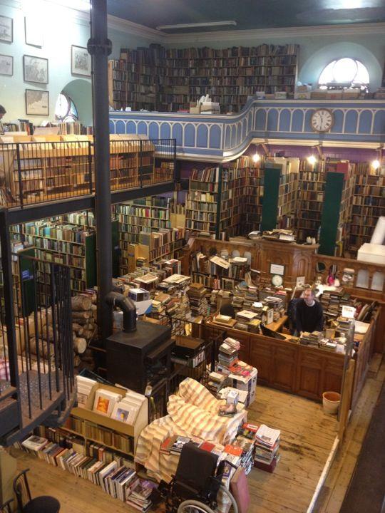 Leakey S Bookshop And Cafe Scotland Vacation Bookshop Places